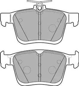 Delphi LP2490 - Piduriklotsi komplekt,ketaspidur multiparts.ee