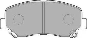 Delphi LP2481 - Piduriklotsi komplekt,ketaspidur multiparts.ee