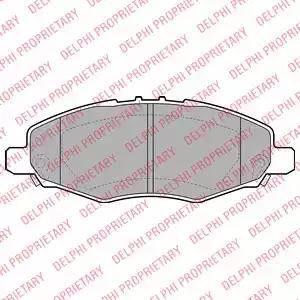 Delphi LP2059 - Piduriklotsi komplekt,ketaspidur multiparts.ee