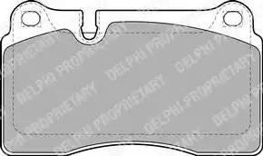 Delphi LP2012 - Piduriklotsi komplekt,ketaspidur multiparts.ee