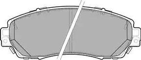 Delphi LP2710 - Piduriklotsi komplekt,ketaspidur multiparts.ee