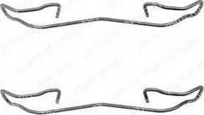 Delphi LX0167 - Lisakomplekt, ketaspiduriklotsid multiparts.ee
