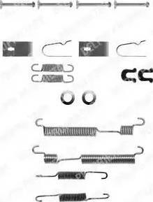 Delphi LY1056 - Lisakomplekt, Piduriklotsid multiparts.ee