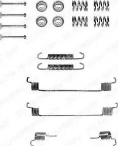 Delphi LY1061 - Lisakomplekt, Piduriklotsid multiparts.ee
