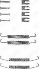 Delphi LY1037 - Lisakomplekt, Piduriklotsid multiparts.ee