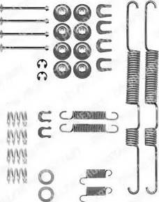 Delphi LY1191 - Lisakomplekt, Piduriklotsid multiparts.ee