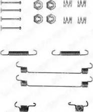 Delphi LY1112 - Lisakomplekt, Piduriklotsid multiparts.ee