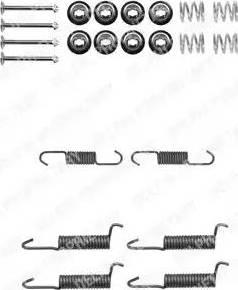 Delphi LY1315 - Lisakomplekt, Piduriklotsid multiparts.ee