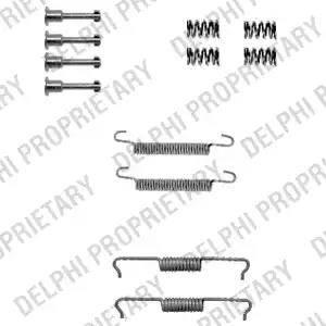 Delphi LY1330 - Lisakomplekt, Piduriklotsid multiparts.ee