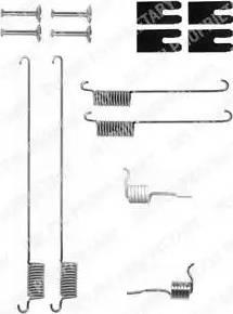 Delphi LY1323 - Lisakomplekt, Piduriklotsid multiparts.ee