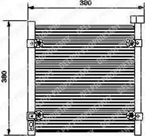 Delphi TSP0225422 - Kondensaator,kliimaseade multiparts.ee