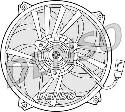 Denso DER21015 - Ventilaator,mootorijahutus multiparts.ee