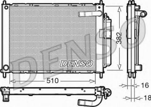 Denso DRM46101 - Jahutimoodul multiparts.ee