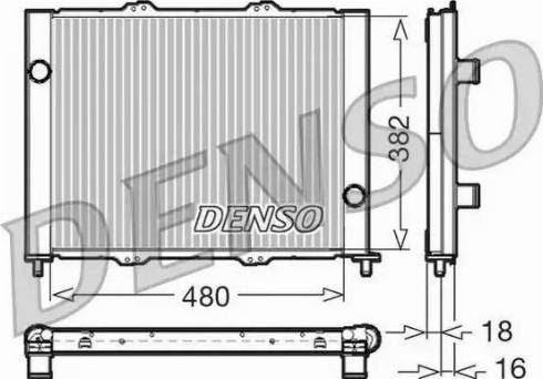Denso DRM23099 - Jahutimoodul multiparts.ee