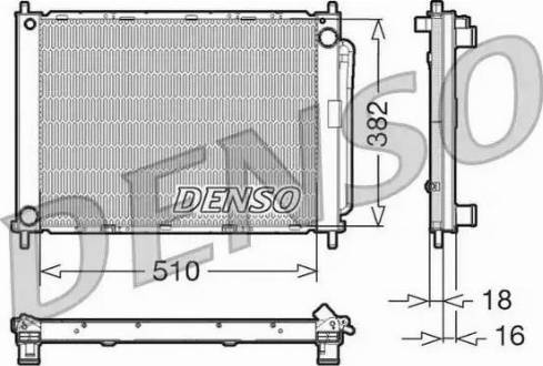 Denso DRM23100 - Jahutimoodul multiparts.ee