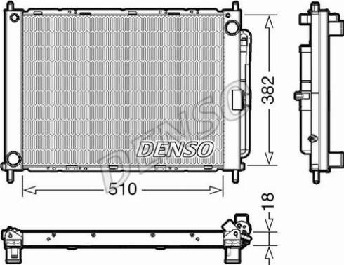 Denso DRM23111 - Jahutimoodul multiparts.ee