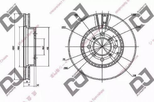 DJ Parts BD1680 - Piduriketas multiparts.ee