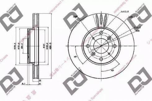 DJ Parts BD1681 - Piduriketas multiparts.ee