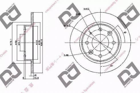 DJ Parts BD1093 - Piduriketas multiparts.ee