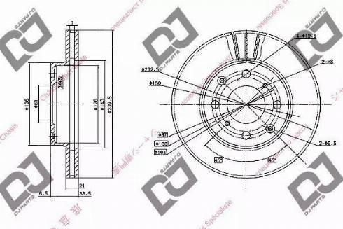 DJ Parts BD1044 - Piduriketas multiparts.ee