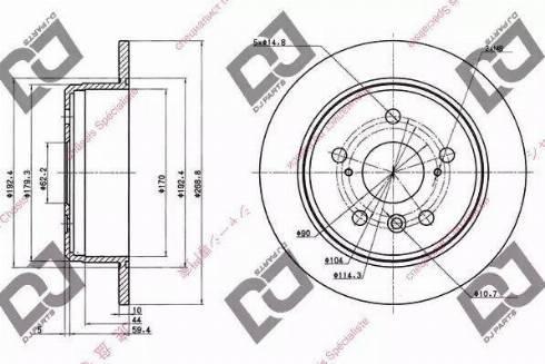DJ Parts BD1001 - Piduriketas multiparts.ee