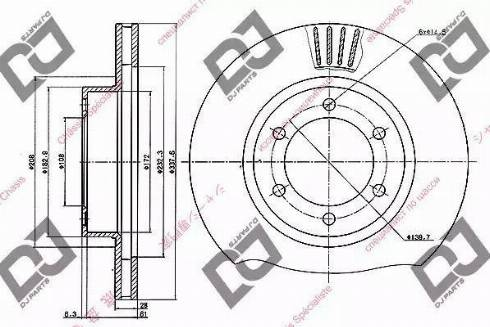 DJ Parts BD1013 - Piduriketas multiparts.ee