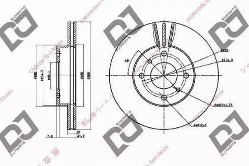 DJ Parts BD1391 - Piduriketas multiparts.ee