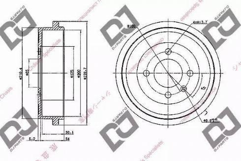 DJ Parts BR1061 - Piduritrummel multiparts.ee