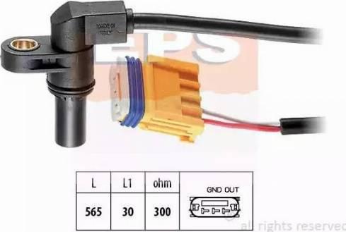 EPS 1.953.469 - Pööreteandur, automaatk.kast multiparts.ee