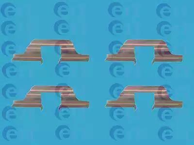ERT 420068 - Lisakomplekt, ketaspiduriklotsid multiparts.ee