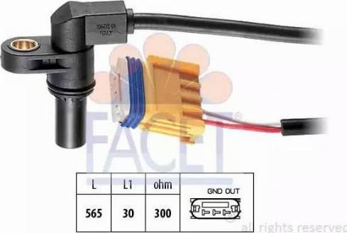 FACET 9.0469 - Pööreteandur, automaatk.kast multiparts.ee