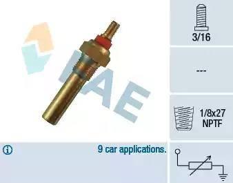FAE 32300 - Andur,Jahutusvedeliku temp. multiparts.ee