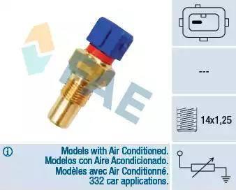 FAE 32290 - Andur,silindripea temperatuur multiparts.ee