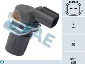 FAE 79181 - Pööreteandur, automaatk.kast multiparts.ee