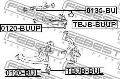 Febest 0135-BU - Õõtshoova toestus multiparts.ee