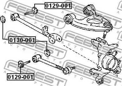 Febest 0129-001 - Rattakalde korrektuurkruvi multiparts.ee