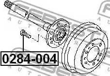 Febest 0284-004 - Rattapoldid multiparts.ee