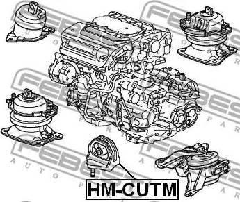 Febest HM-CUTM - Kinnitus,automaatkäigukast multiparts.ee