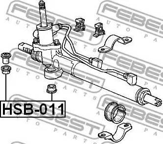 Febest HSB-011 - Paigutus,rooliajam multiparts.ee