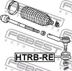 Febest HTRB-RE - Remondikomplekt, rooliots multiparts.ee