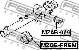 Febest MZGB-PREM - Paigutus,rooliajam multiparts.ee