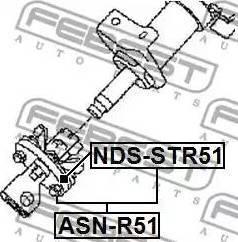 Febest NDS-STR51 - Flants,roolisammas multiparts.ee