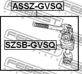 Febest SZSB-GVSQ - Puks,juhtvõll multiparts.ee
