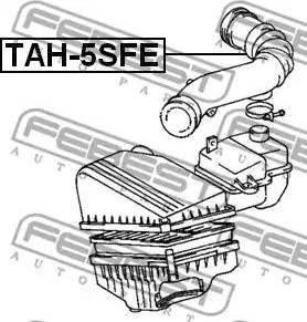 Febest TAH-5SFE - Toruühendus multiparts.ee