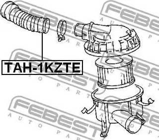 Febest TAH-1KZTE - Toruühendus multiparts.ee