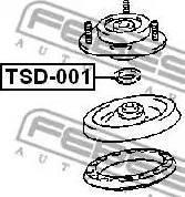 Febest TSD-001 - Kinnitus,amordid multiparts.ee