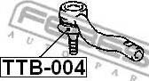 Febest TTB-004 - Remondikomplekt, rooliots multiparts.ee