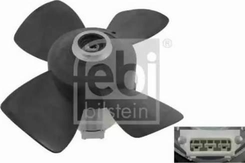 Febi Bilstein 06995 - Ventilaator,mootorijahutus multiparts.ee
