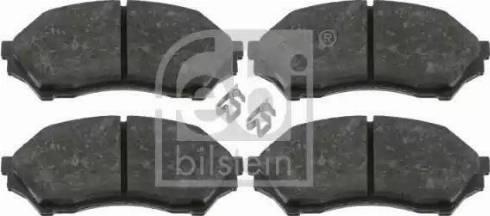 Febi Bilstein 16498 - Piduriklotsi komplekt,ketaspidur multiparts.ee