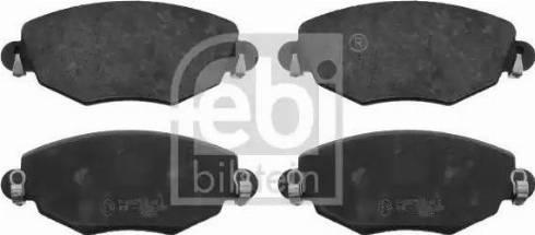 Febi Bilstein 16402 - Piduriklotsi komplekt,ketaspidur multiparts.ee
